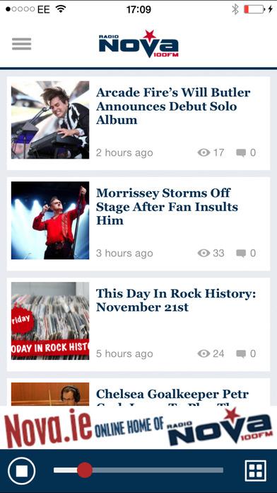 Radio Nova – 100FM iPhone Screenshot 1