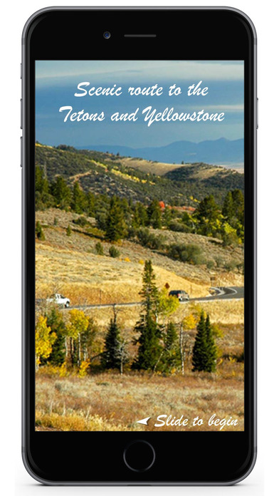 Scenic Route to Tetons and Yellowstone