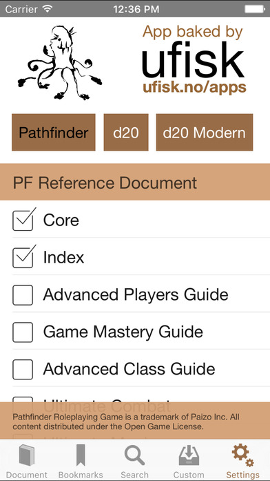 PFR iPhone Screenshot 3