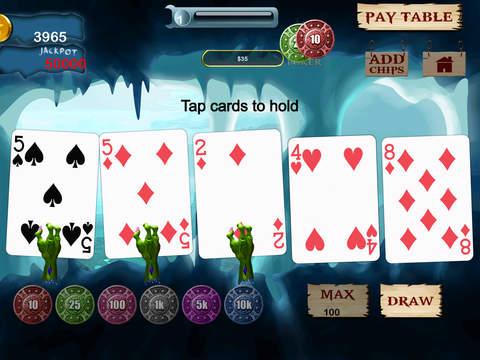 美国怪兽扑克狂热亲 - 苹果老虎机扑克牌游戏大全扑克