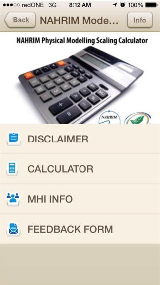 NAHRIM Modelling Calculator