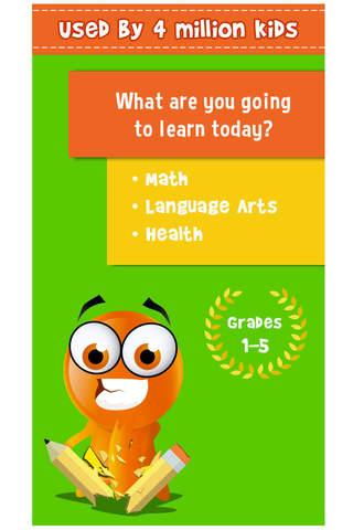Screenshot 1 iTooch Elementary School App