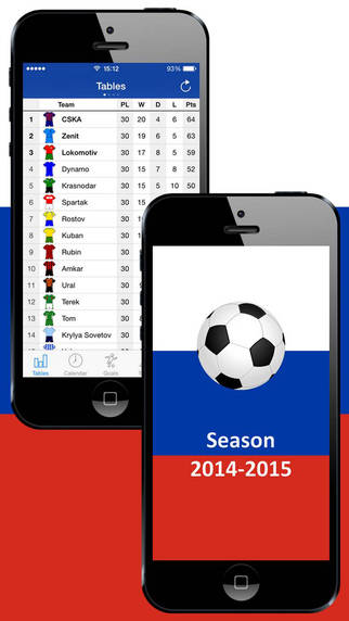 Russian Football - with Video of Reviews and Video of Goals. Season 2014-2015