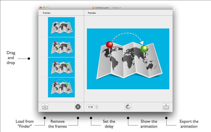 PNG Animator - 制作 APNG 图片动画工具[OS X]丨反斗限免