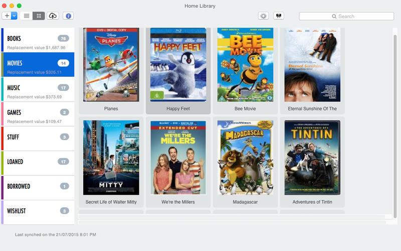 Home Library OS Screenshot - 3