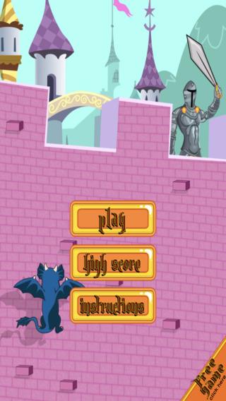 Ancient Winged Dragon Dash - Castle Climb Challenge Paid