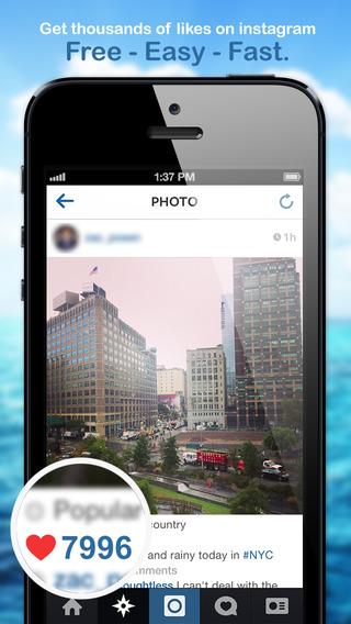 Liker - boost likes on instagram