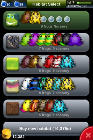 Screenshot 2 Pocket Frogs - Free pet farming
