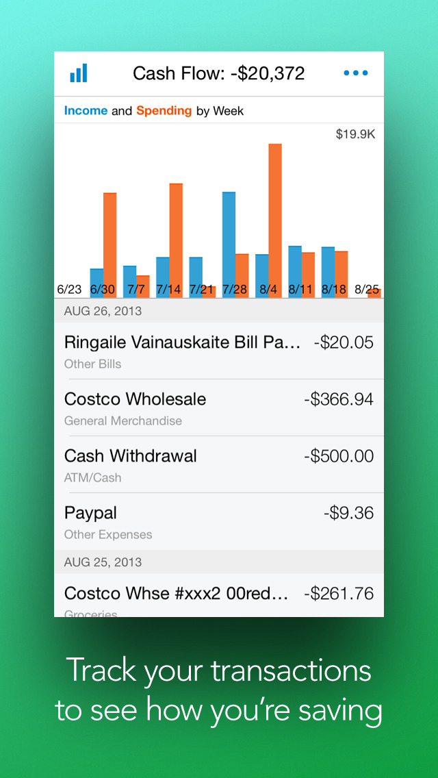 personal capital money and investing iphoneアプリ applion