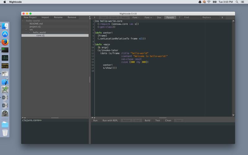 Nightcode Screenshot - 1
