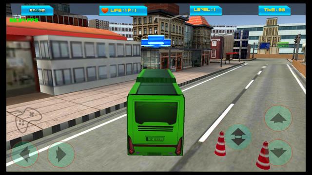 Runway City Bus Driving