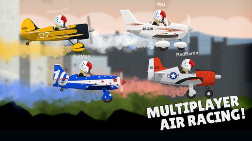 Ace Flyer - Multiplayer Air Racing