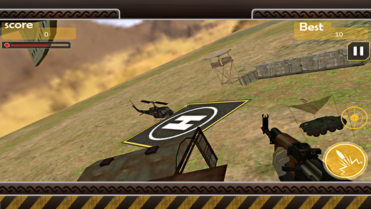 Gunship Helli Attack Invasion 2015