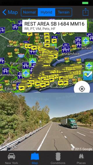 玩旅遊App|New York State Road Conditions and Traffic Cameras + Street View + Places Around/Transportation/NOAA All-In-1 Pro免費|APP試玩