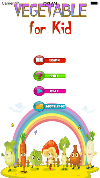 Vegetables For Kid - Educate Your Child To Learn English In A Different Way