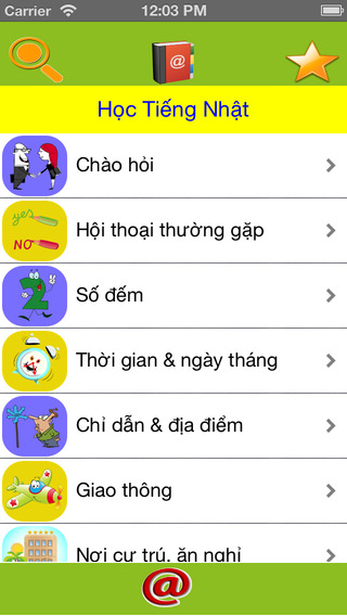 Học Tiếng Nhật - Learn Japanese vocabularies and phrases