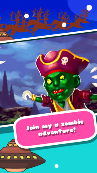 Amazing Pirate Zombies Jump HD - The Hunt For Brain Feast