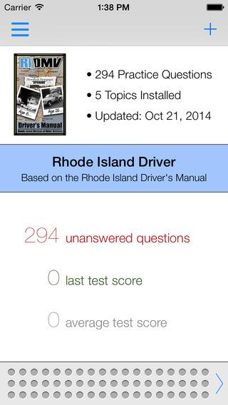 Rhode Island DMV Test Prep
