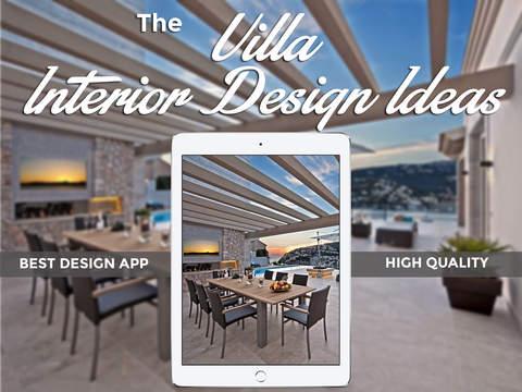 Villa Interior Design Ideas for iPad