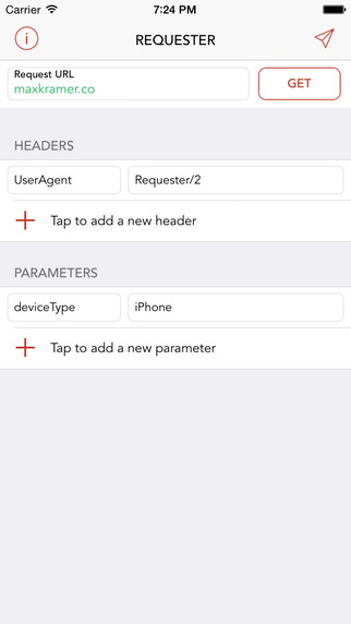 Requester - HTTP Request Maker for iPhone and iPad