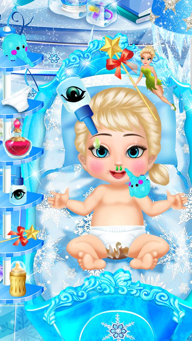 冰雪王后的新生宝贝 - 怀孕妈咪和宝贝护理