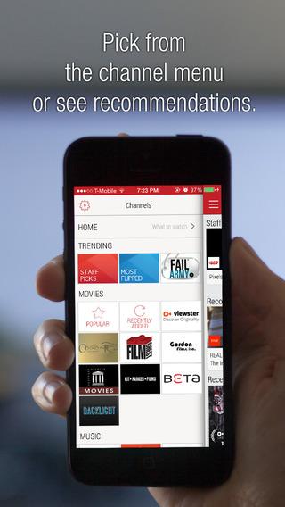 Flipps - Watch Movies Free Videos on TV