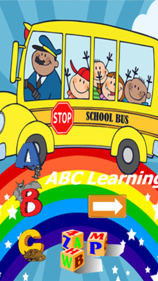 ABC Learning alphabet for kids with english language vocabulary