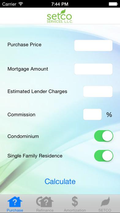 SETCO Services, L.L.C. Calculators iPhone Screenshot 1