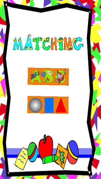 Preschool Memory Match For Kids