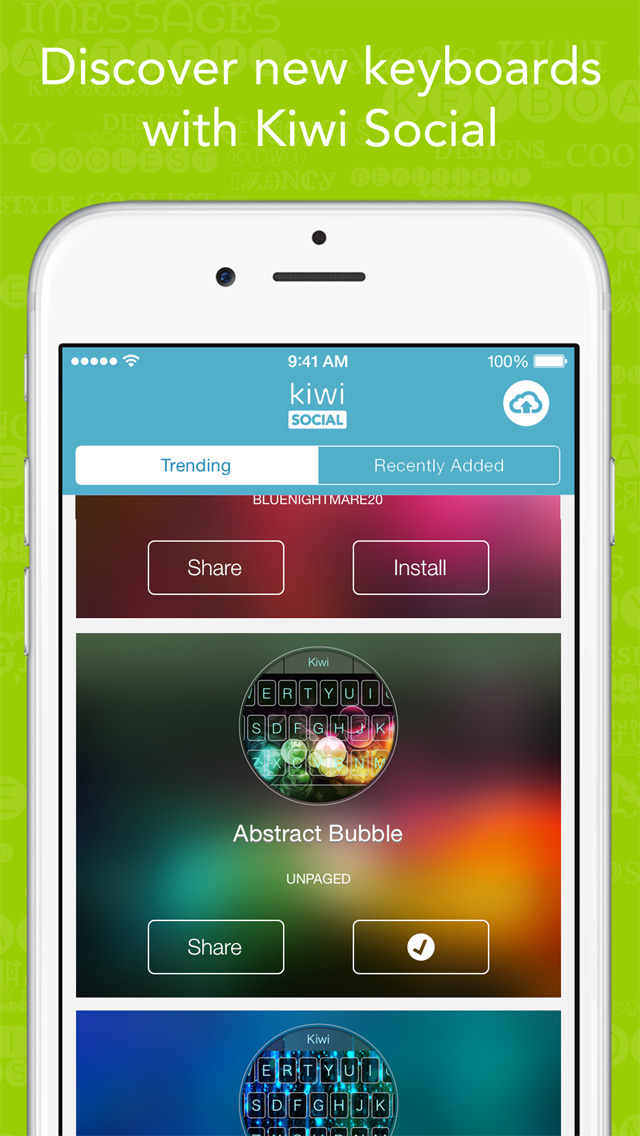 Character Design App Iphone : App shopper kiwi colorful custom keyboard designer