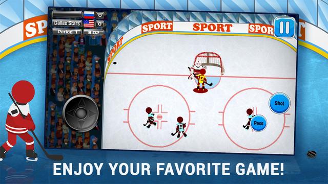 Stickman Hockey PRO|玩遊戲App免費|玩APPs
