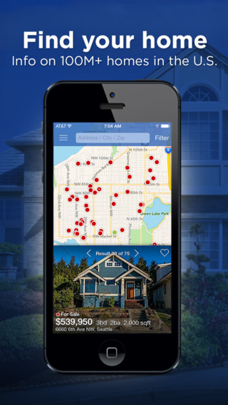 Real Estate by Zillow – Homes Apartments For Sale or Rent