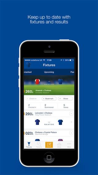 Chelsea FC Fan App