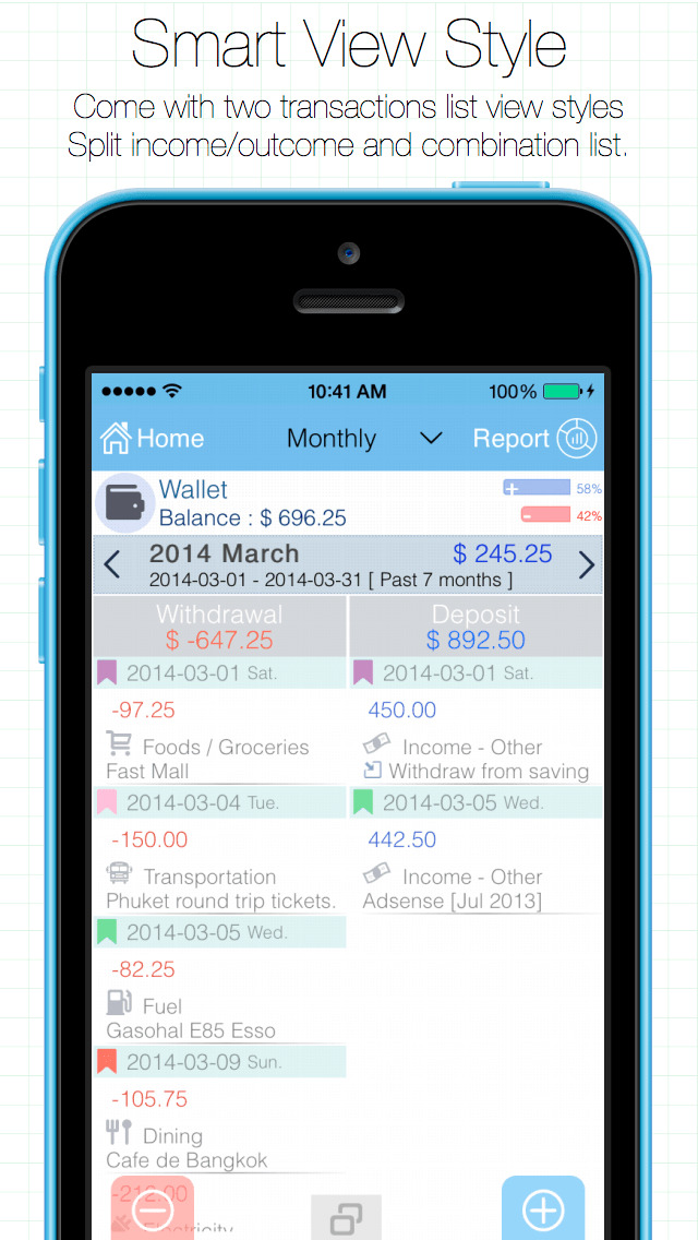 Evo Wallet - Money Tracker - Prakit Kunakronpalang image 2