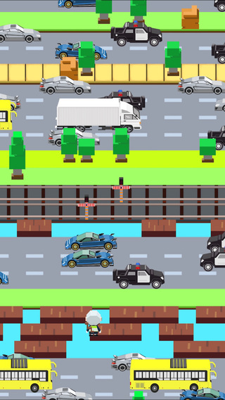Crossy Hero - Don't Flinch and Smashy Snap Target Road