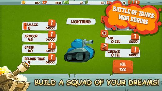 Battle Of Tanks: War Begins