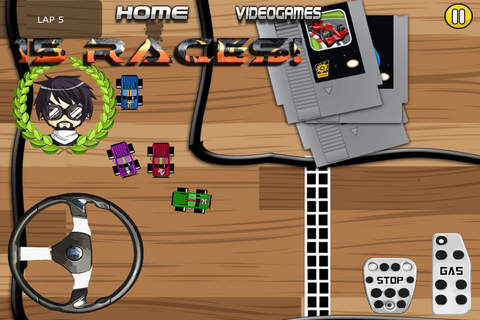 Micro Racing HD Pocket screenshot 2