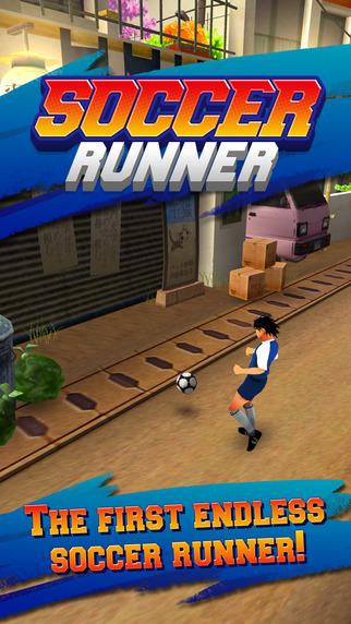 Soccer Runner: Unlimited football rush