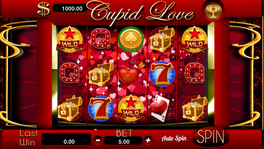 AAA Cupid Love Slots - Free Vegas Valentine Day Casino Jackpot Machine