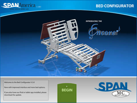 Bed Configurator from Span-America
