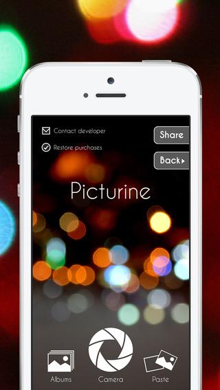 Picturine - Free photo editor
