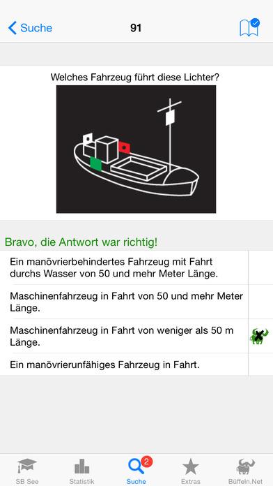 Sportbootführerschein-See iPhone Screenshot 2