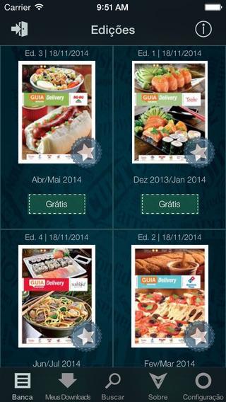 Revista Guia Delivery Gazeta do Povo