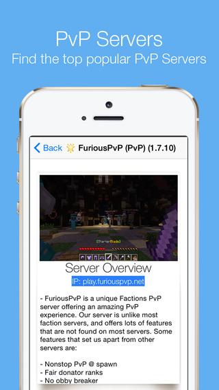 Live Servers - for Minecraft