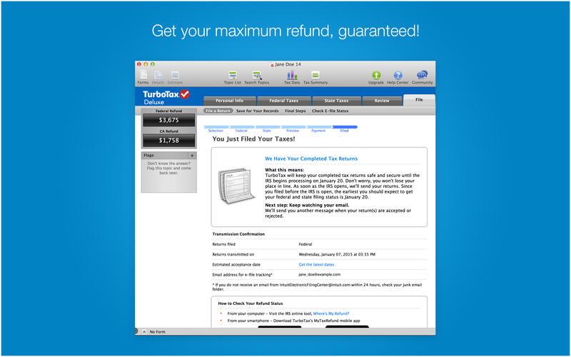 TurboTax Screenshot