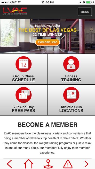 LVAC iPhone Screenshot 1