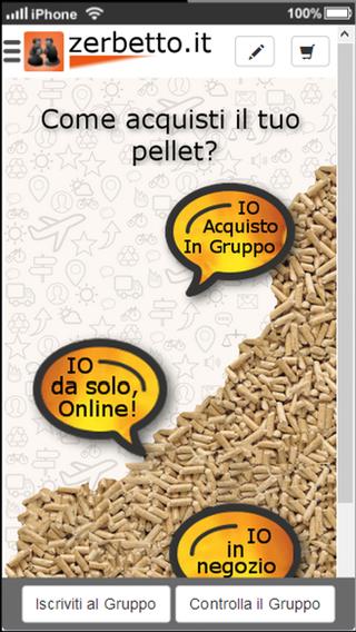 Zerbetto - Formazione Gruppi di Acquisto pellets certificati