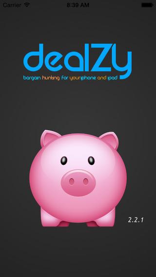 DealZy-Deals Bargains Coupons