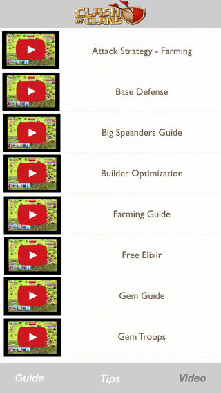 Cheats and Tips for Clash of Clans Game – Full Strategy walkthrough