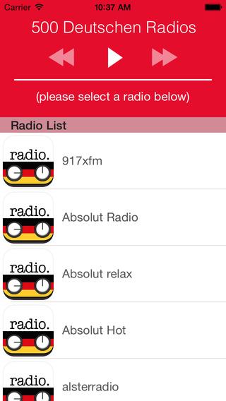 Radio Deutschland - FREE deutschen Radio Online DE